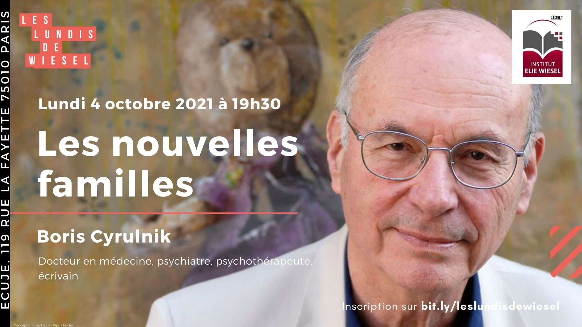 Conférence de Boris Cyrulnik, neuropsychiatre